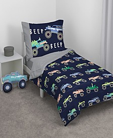 Monster Truck Toddler Bedding Collection