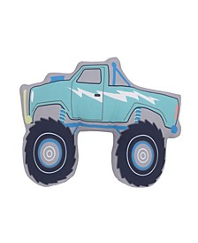 Monster Truck Decorative Pillow