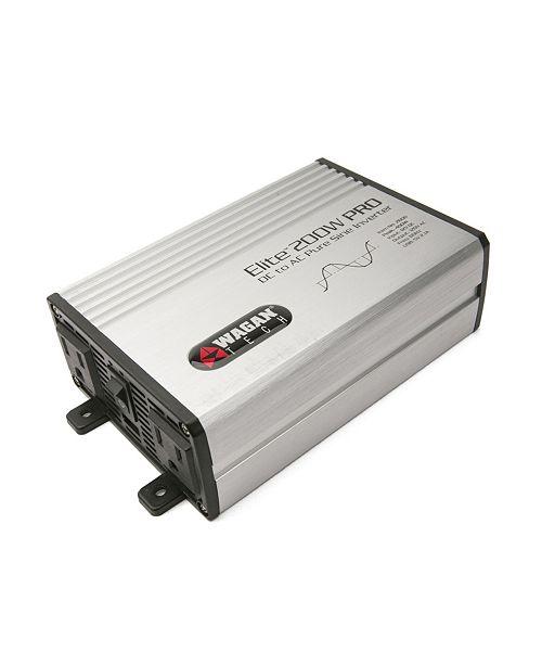 Wagan Tech Wagan Elite 200 Watt Pure Sine Wave Power Inverter