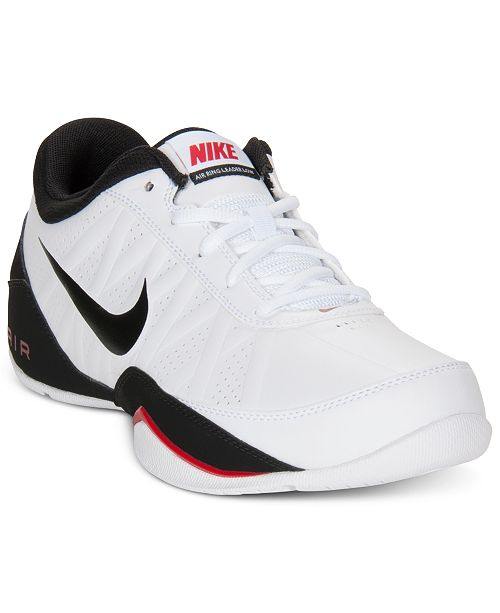 cheap for discount 443d9 e5afc ... Nike Men s Air Ring Leader Low Sneakers from Finish ...