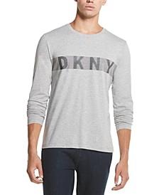 Men's Dotted Stripe Logo Graphic T-Shirt