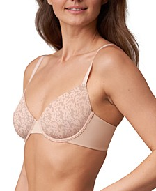 Women's Compel Unlined Underwire Demi Cup Bra 324178