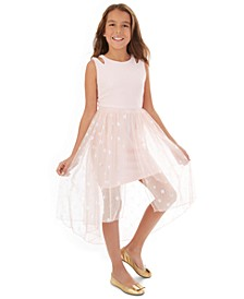 Big Girls Polka-Dot Walkthrough Dress