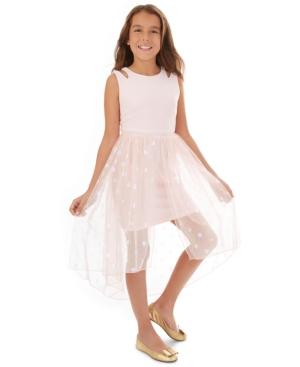 Bcx Big Girls Polka-Dot Walkthrough Dress