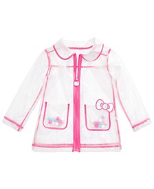 Little Girls See-Through Rain Jacket