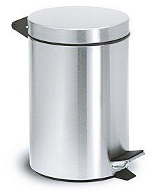brushed Pedal Bin Wastepaper Basket