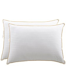 2-Pack of Striped Pillows, King
