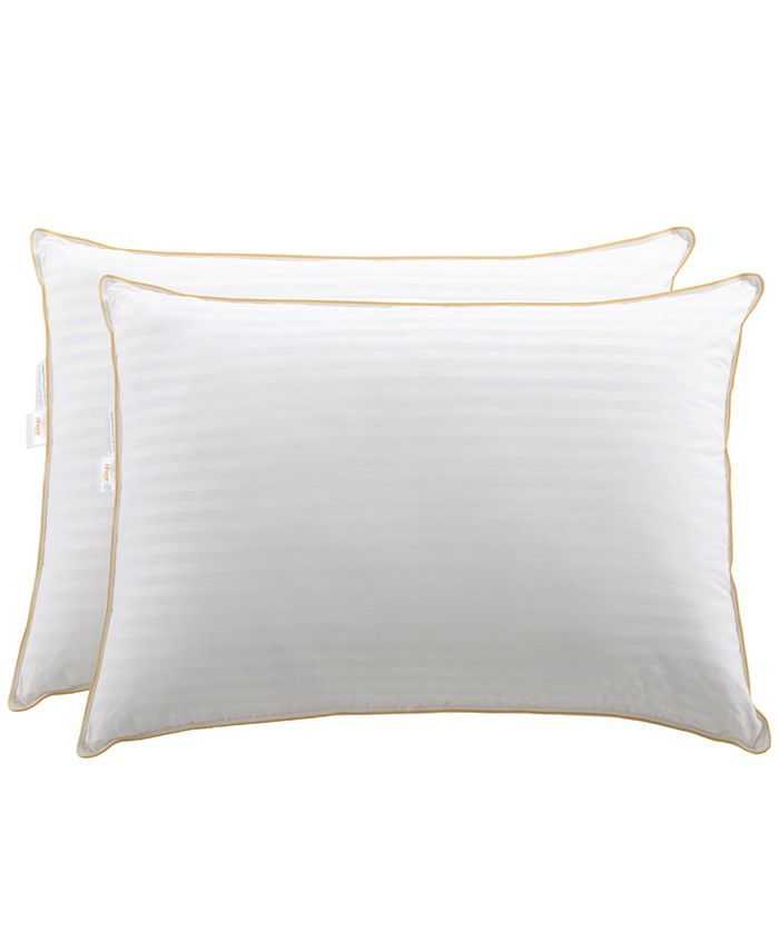 Cheer Collection - 2-Pack of Striped Pillows, King