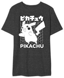Pikachu Kanji Men's Graphic T-Shirt