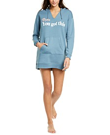 Graphic-Print Sleepshirt Hoodie, Created for Macy's