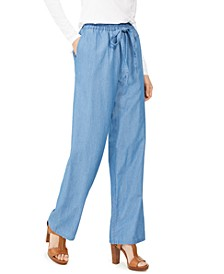 Tencel Pull-On Pants
