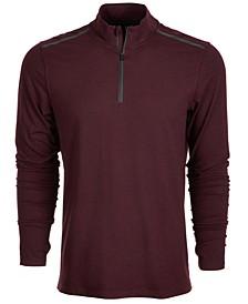 Men's Core Bonded Quarter-Zip Pullover, Created for Macy's