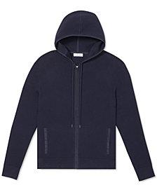 Calvin Klein Men's Regular-Fit Textured Full-Zip Hoodie