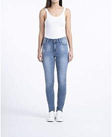 Ladies Mid-Rise Skinny Jeans