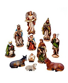 6-Inch Nativity Set with 11 Figures