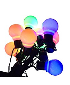 10 LED Old Time Party Light Set, Multicolor