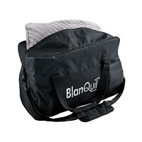 BlanQuil Passport Travel Size 10lb Weighted Blanket