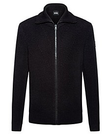 BOSS Men's Kovent Regular-Fit Knitted Jacket