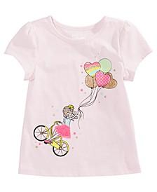 Little Girls Balloon Bike T-Shirt, Created For Macy's