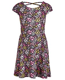 Big Girls Floral-Print Dress, Created For Macy's