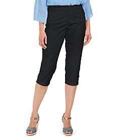 Petite Comfort-Waist Capri Pants, Created for Macy's