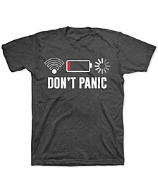Big Boys Don't Panic T-Shirt