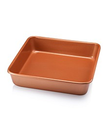 "Nonstick 9.5"" x 9.5"" Square Baking Pan"