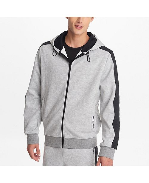 Karl Lagerfeld Paris Men's Combo Quilted Insert Jogger