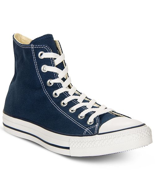 b0569840d Converse Men s Chuck Taylor High Top Sneakers from Finish Line ...
