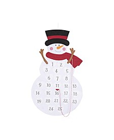 Felt Snowman Advent Calendar