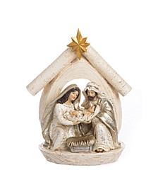 Resin Elegant Nativity Scene