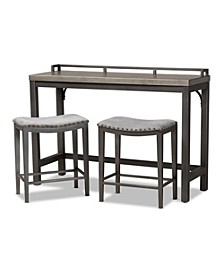Noll 3pc Counter Table Set