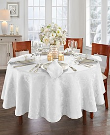 "Elrene Caiden Damask Tablecloth - 90"" Round"