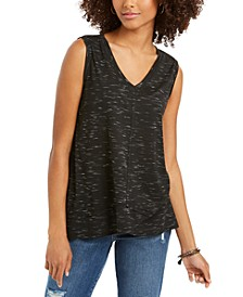 V-Neck High-Low Tank Top, Created for Macy's