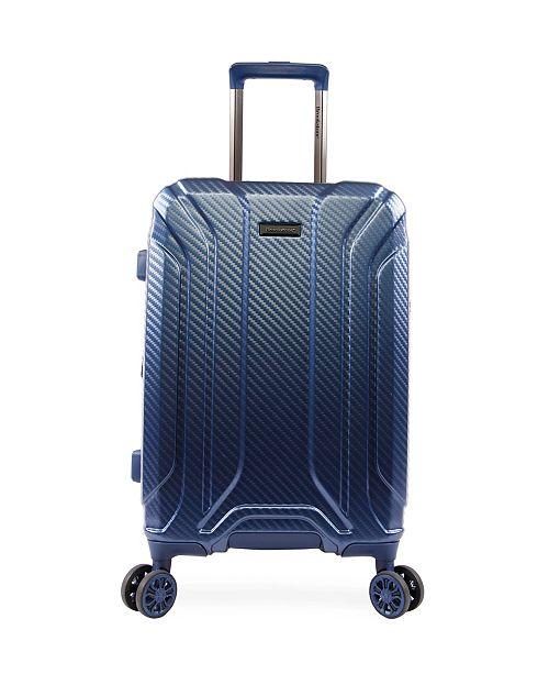 "Brookstone Keane 21"" Hardside Carry-On Luggage with Charging Port"