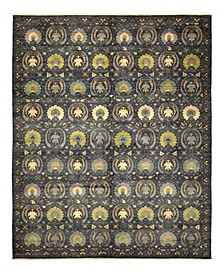 """CLOSEOUT! One of a Kind OOAK932 Charcoal 10'2"""" x 14'3"""" Area Rug"""