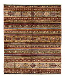 "One of a Kind OOAK1132 Caramel 5'7"" x 7'8"" Area Rug"
