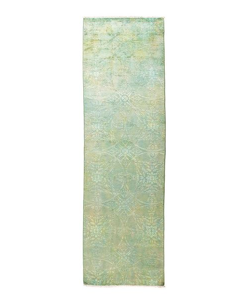 "Nourison CLOSEOUT! Timeless Rug Designs One of a Kind OOAK1753 Mint 3'1"" x 10'1"" Runner Rug"