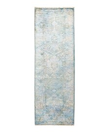 """CLOSEOUT! Timeless Rug Designs One of a Kind OOAK1762 Multi 2'7"""" x 8' Runner Rug"""