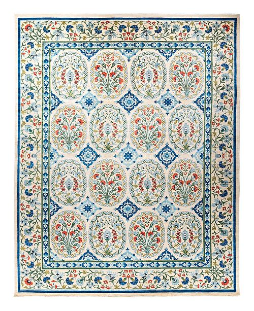 "Timeless Rug Designs CLOSEOUT! One of a Kind OOAK1788 Ivory 12'1"" x 15'7"" Area Rug"