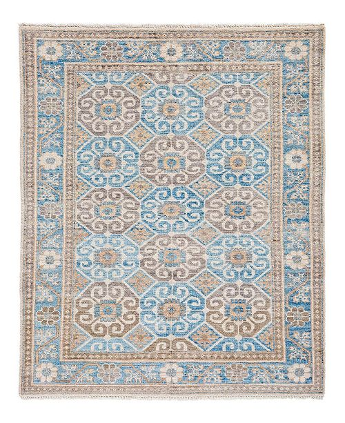 "Timeless Rug Designs CLOSEOUT! One of a Kind OOAK2036 Rust 4'3"" x 6'1"" Area Rug"