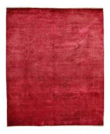 """CLOSEOUT! One of a Kind OOAK3919 Raspberry 6' x 8'10"""" Area Rug"""