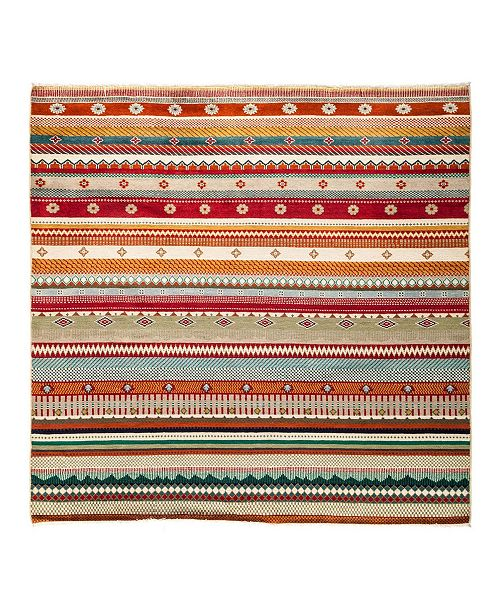 """Timeless Rug Designs CLOSEOUT! One of a Kind OOAK2834 Caramel 6'2"""" x 6'3"""" Area Rug"""