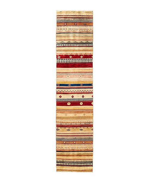 """Timeless Rug Designs CLOSEOUT! One of a Kind OOAK2823 Caramel 2' x 9'2"""" Runner Rug"""
