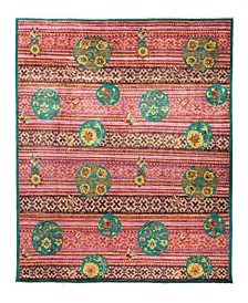"""CLOSEOUT! One of a Kind OOAK2892 Red 8'1"""" x 10'3"""" Area Rug"""