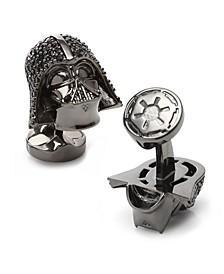 Darth Vader Crystal Helmet Cufflinks