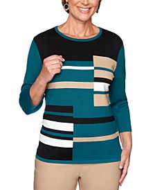 Classics  Colorblocked Graphic Sweater