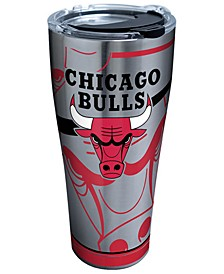 Chicago Bulls 30oz. Paint Stainless Steel Tumbler