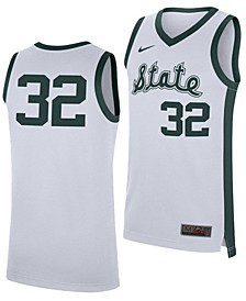 Men's Michigan State Spartans Replica Basketball Retro Jersey