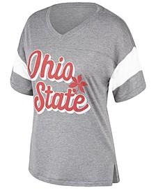 Women's Ohio State Buckeyes Brunch Colorblock T-Shirt